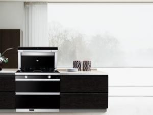 风田智清洁集成灶图片 风田S8厨房装修效果图