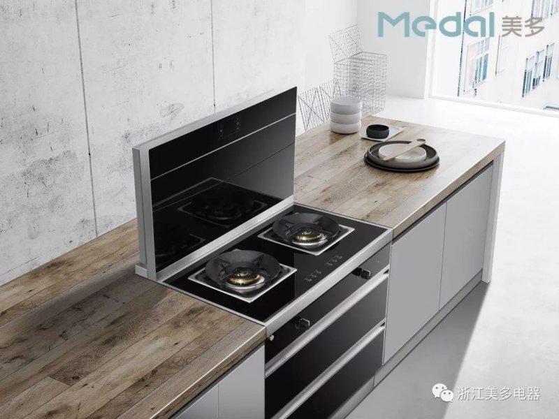 美多集成灶图片 集成灶厨房装修效果图