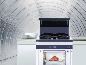 邦的集成灶图片 集成灶厨房装修效果图