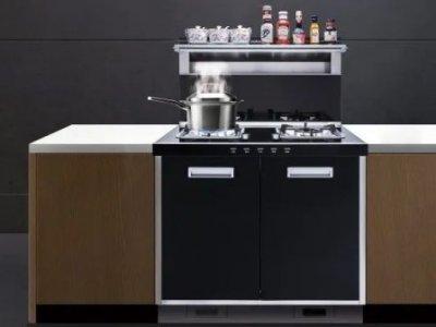 潮邦集成灶图片 厨房集成灶装修效果图