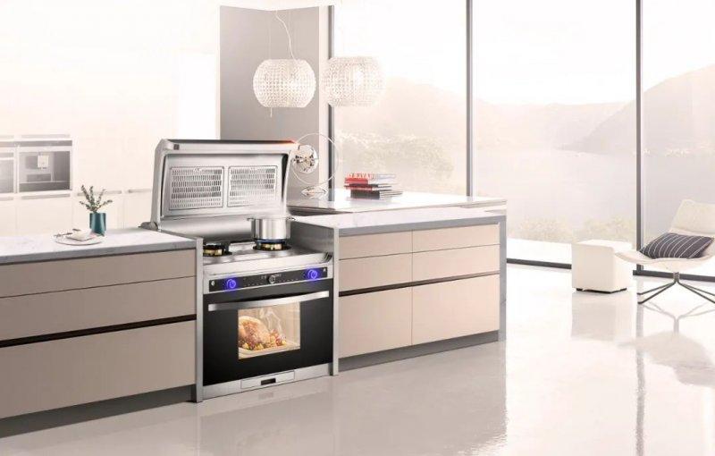 时哥集成灶产品图片 现代风厨房装修效果图_6