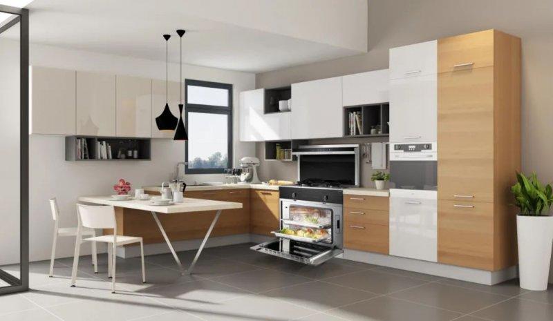 时哥集成灶产品图片 现代风厨房装修效果图_2